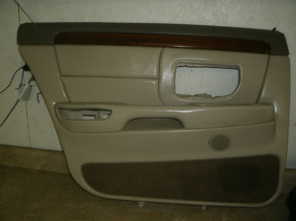 97 99 cadillac deville left rear door trim panel ebay for 01561 left rear door