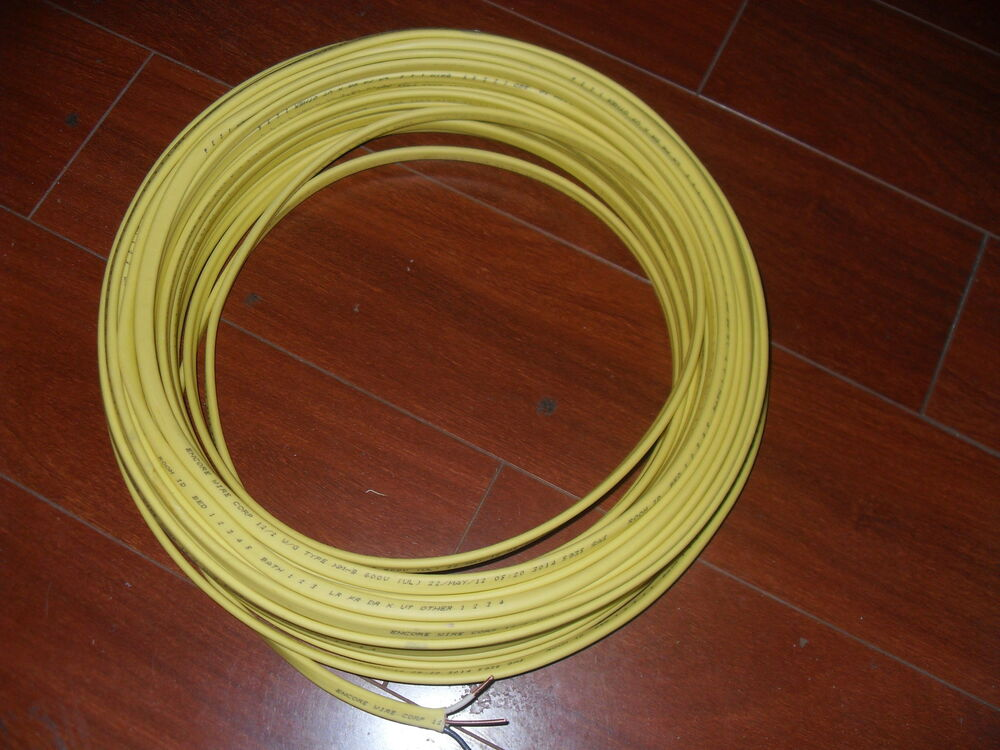 12 Copper Ground Wire : W ground romex copper electrical wire volt ft