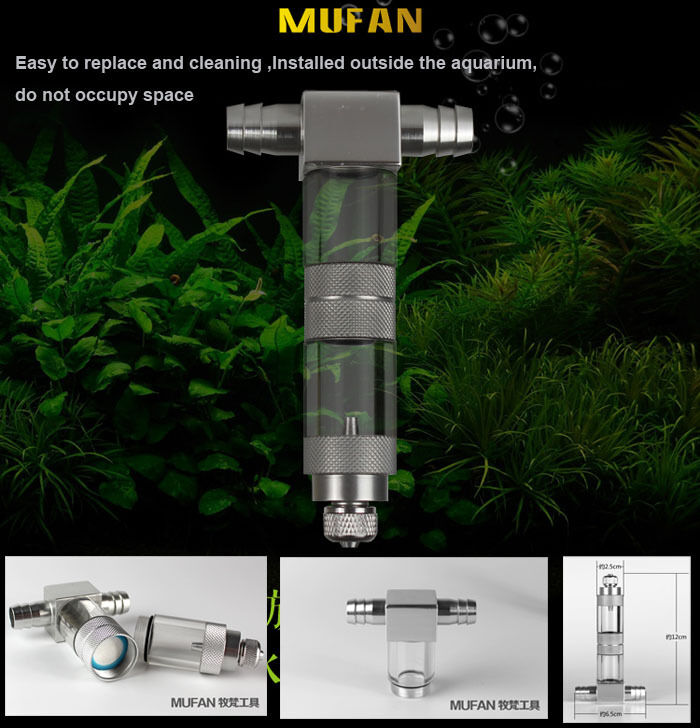 aquarium co2 atomizer system diffuser for plants tank with. Black Bedroom Furniture Sets. Home Design Ideas