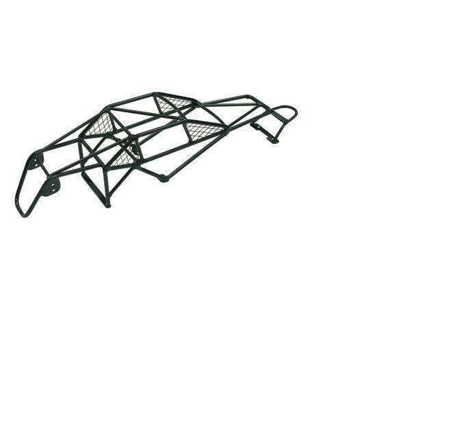Integy Black Steel Roll Cage 1 10 Traxxas Stampede