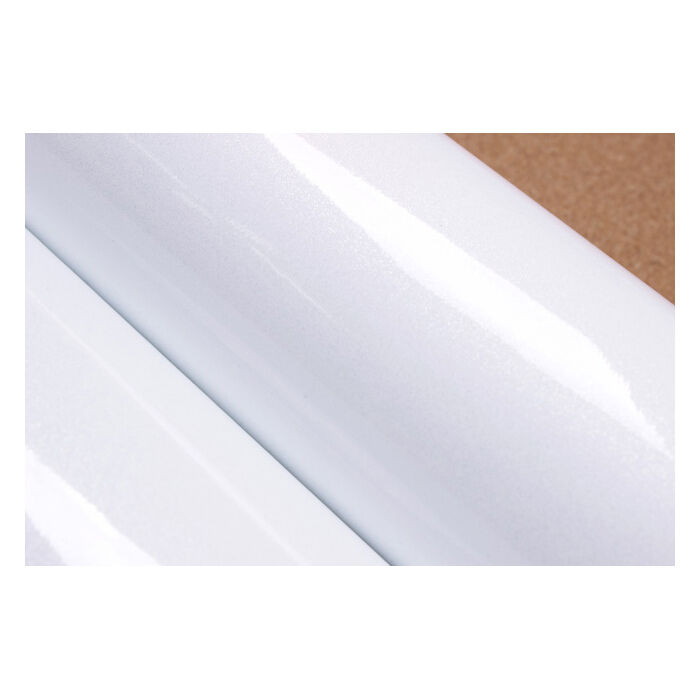 2m gloss solid white pearl counter top film self for White self adhesive wallpaper