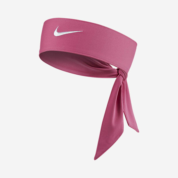 Details about New Womens Nike Head Tie Dri Fit 2.0 Pink Headband Tennis  Running Basketball 49e18c21a47