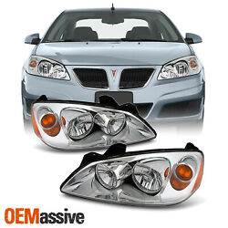 Kyпить Fit 2005-2010 Ponitac G6 Headlights Lamps Replacement Left+Right 05 07 08 09 10 на еВаy.соm