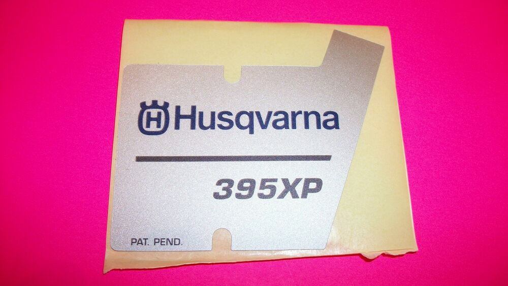 husqvarna 395xp parts list pdf