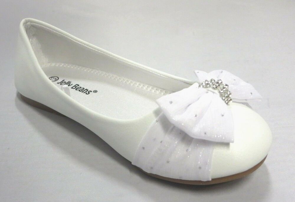 Girls white dress shoes pic 98