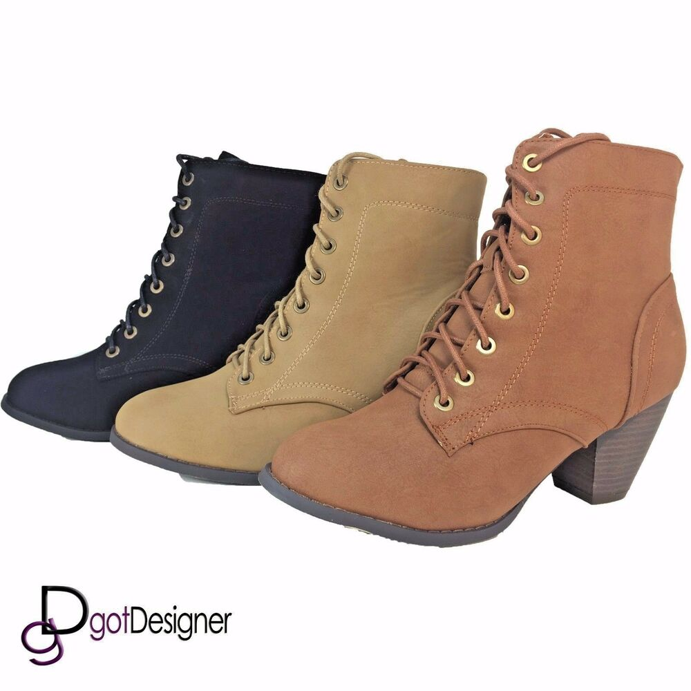 Womens Fashion Shoes Combat Boots Booties Ankle Boots Mid Calf Motorcycle Riding Ebay