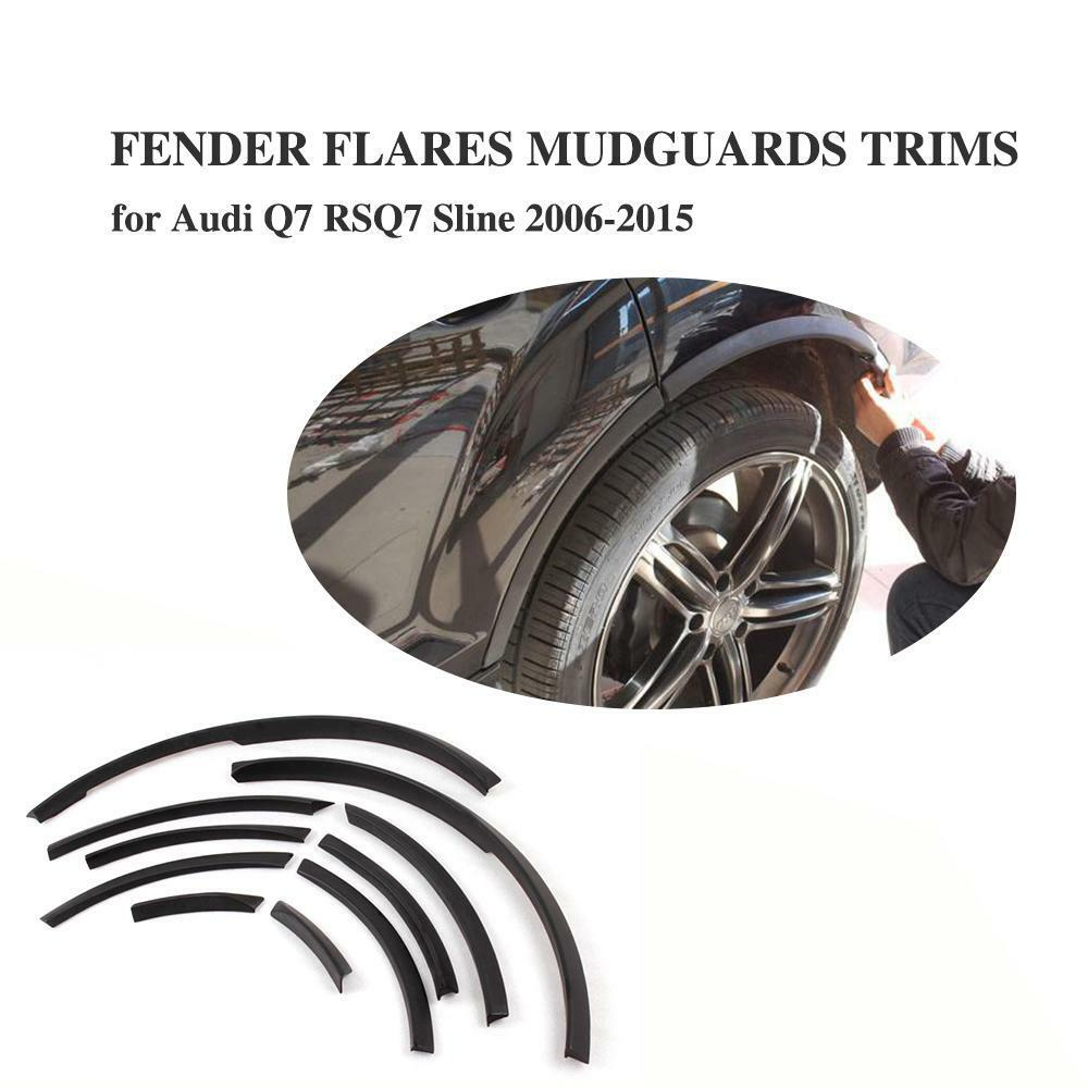 Fender Flares 10PCS Wheel Well Arch Flare Trims Fit For