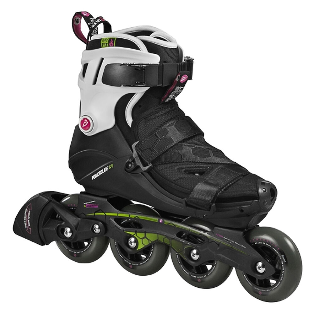 powerslide vi soft pure 84 inlineskates fitness skates. Black Bedroom Furniture Sets. Home Design Ideas