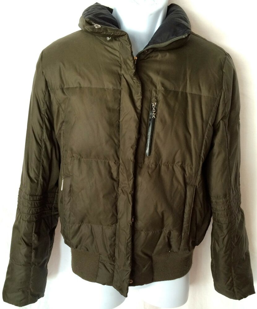 Women S Zeroxposur Army Green Down Puffer Jacket Coat Size
