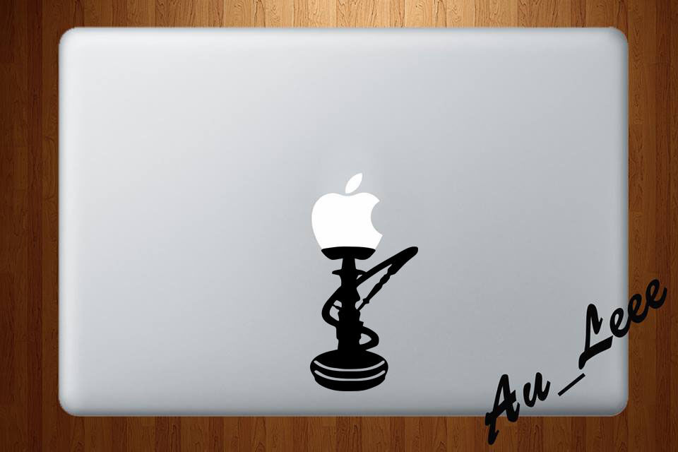 Macbook air pro vinyl skin sticker decal shisha hookah smoke bong weed m406 ebay