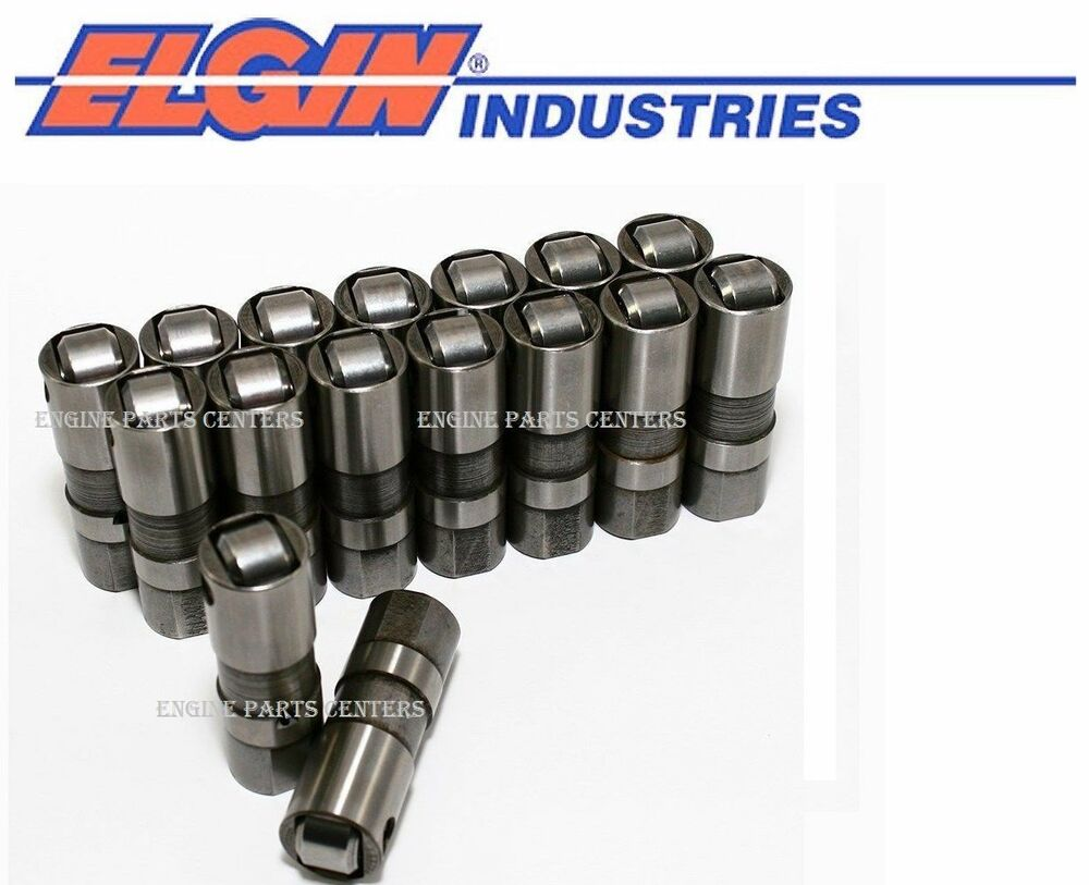 Elgin Hydraulic Roller Lifters Set 16 For Chevy Gmc 6 2 6