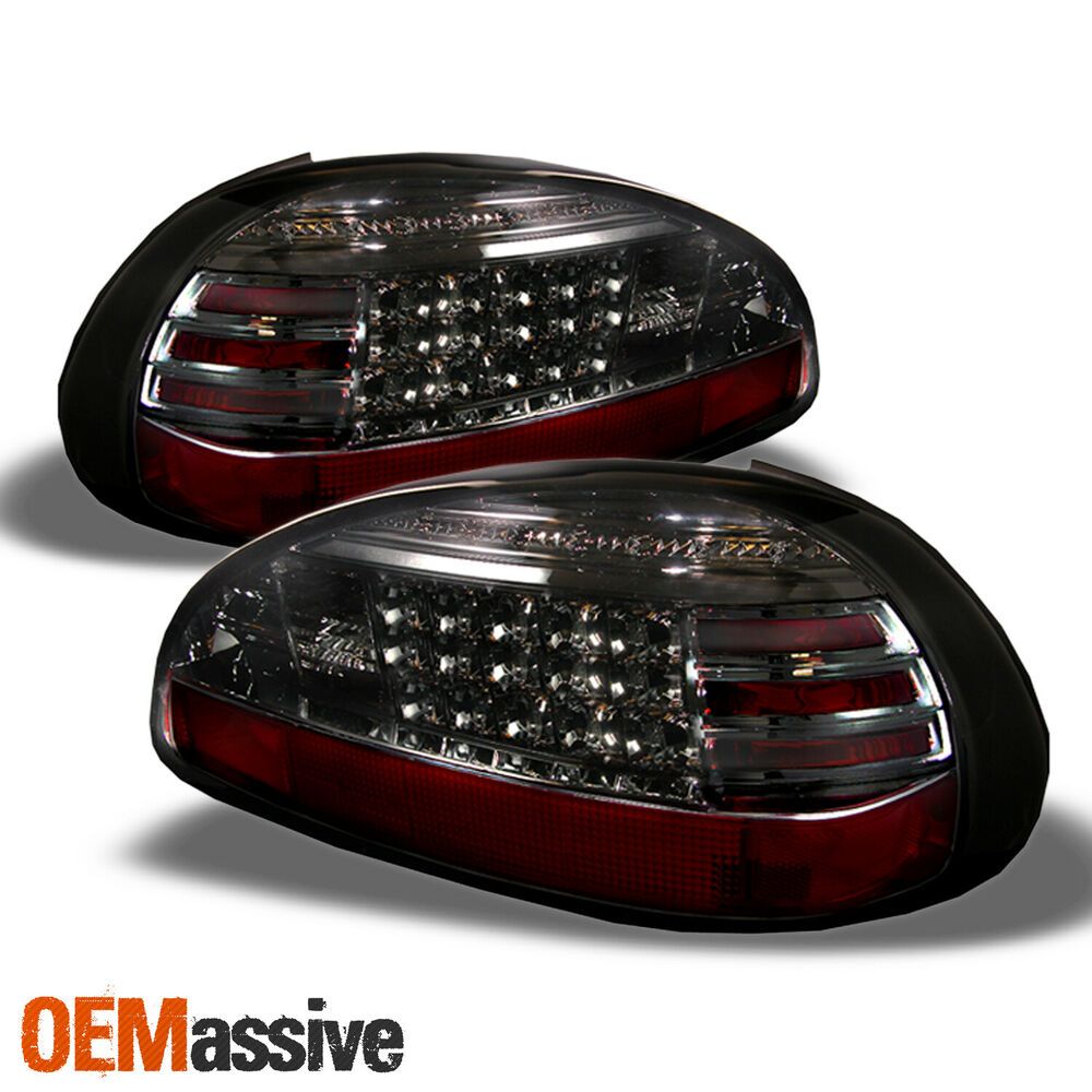97 03 pontiac grand prix smoked philips lumileds led tail lights brake lamp pair ebay. Black Bedroom Furniture Sets. Home Design Ideas