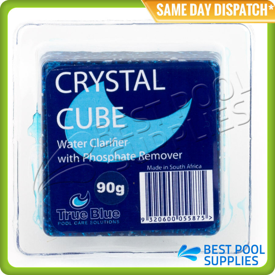 Crystal Cube Water Clarifier With Phosphate Remover Swimming Pools Ebay