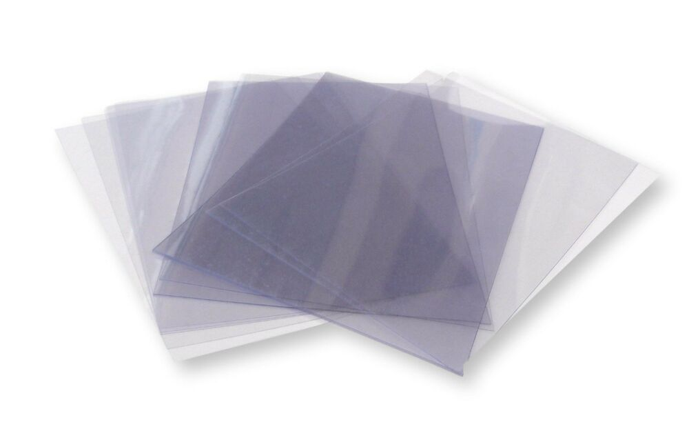50 A4 Clear Acetate Plastic Sheets 210mm X 297mm 180