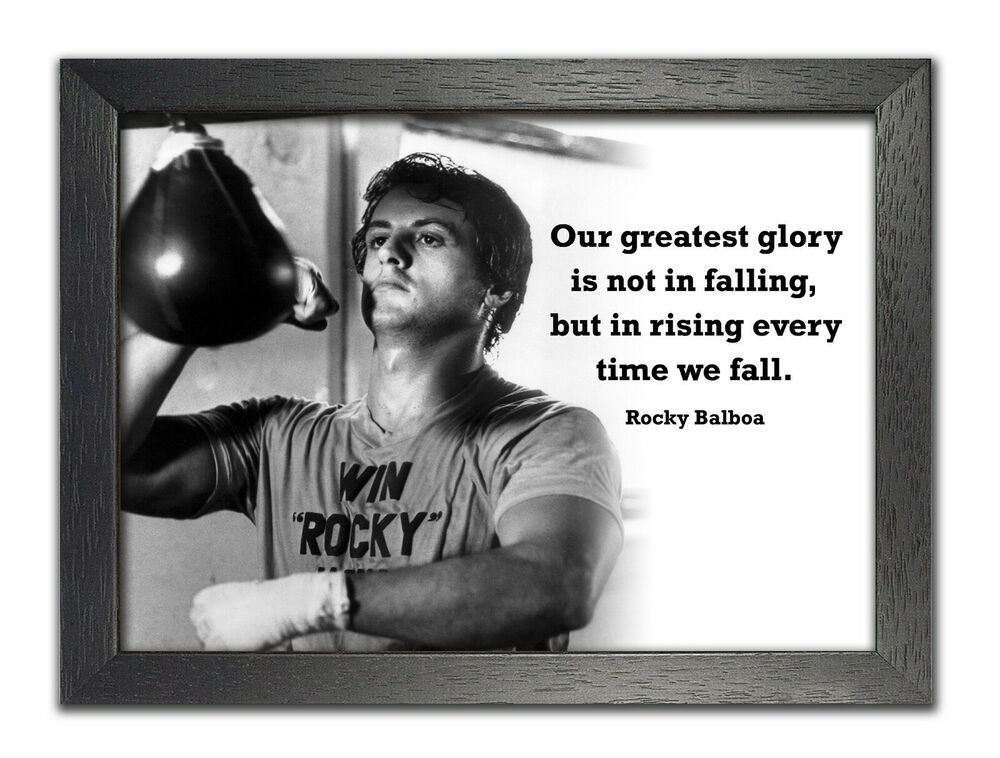Rocky Balboa 1 Motivation Boxing Greatest Glory Quote ...