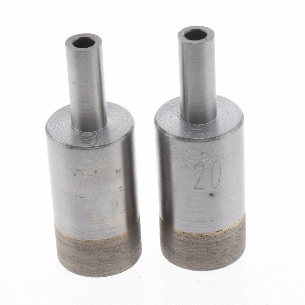 2pcs 20 Mm 3 4 Quot Diamond Sintering Core Bit Glass Hole