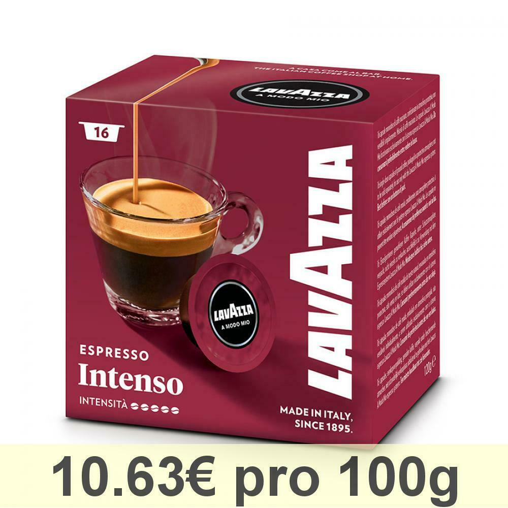 lavazza a modo mio espresso intenso kaffee kaffeekapseln 16 kapseln ebay. Black Bedroom Furniture Sets. Home Design Ideas