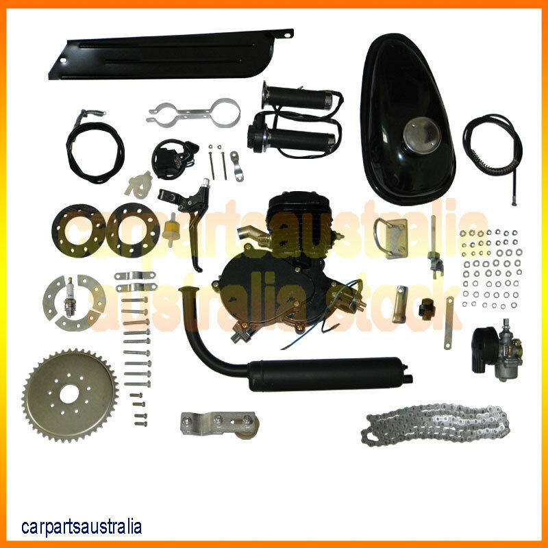 New 80cc 2 Cycle Engine Motor Kit For Motorized Bicycle