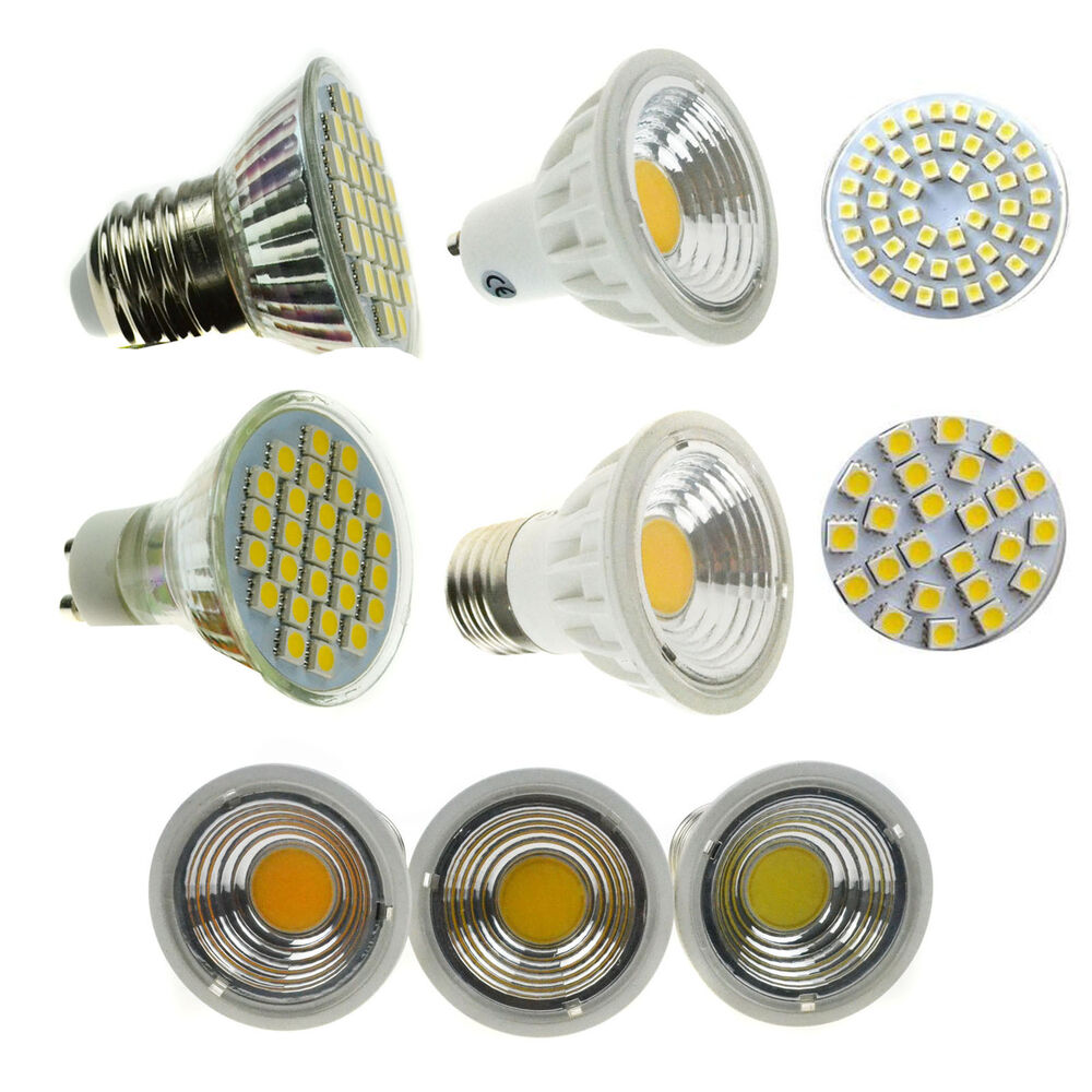 gu10 mr16 e27 3 5 4 15w dimmable led spotlight bulb 3528 5050 smd cob light lamp ebay. Black Bedroom Furniture Sets. Home Design Ideas