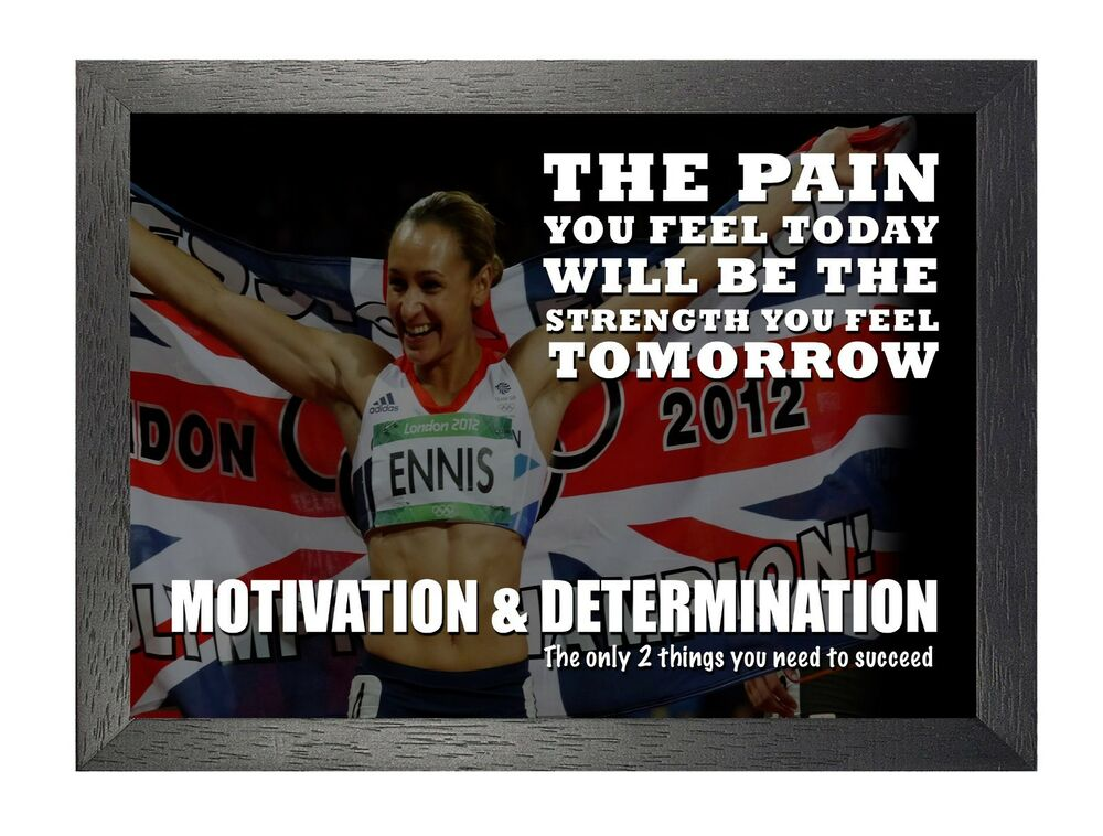 Motivational 110 Jessica Ennis British Track Field Athlete Quote