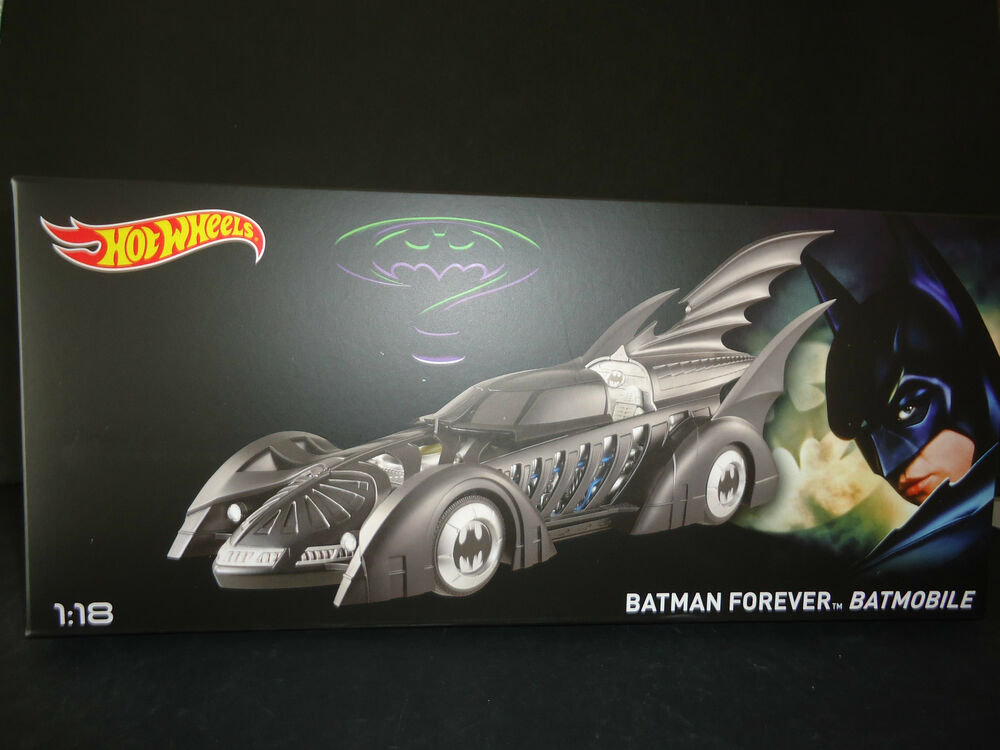 Hot Wheels Batmobile Batman Forever 1/18 BLY43 | eBay