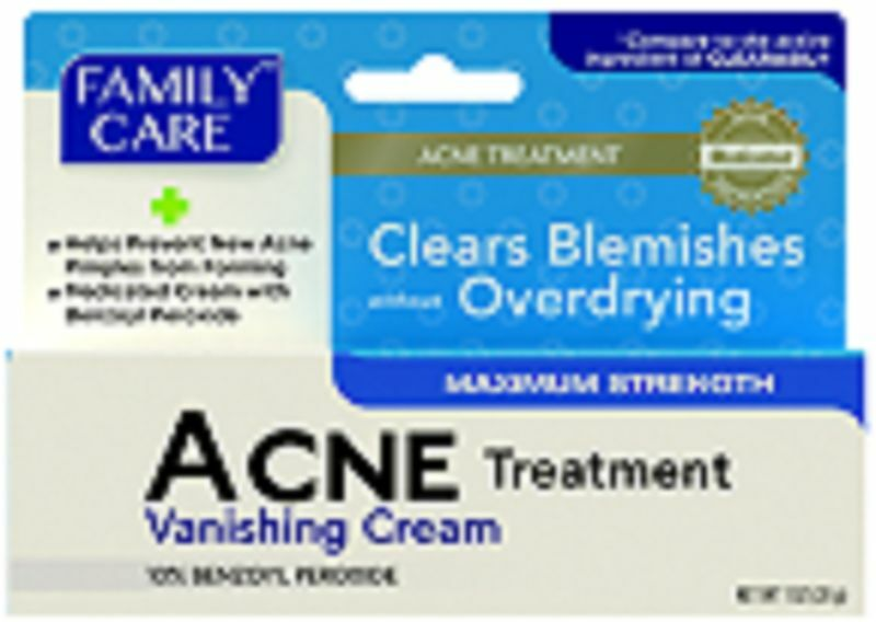24* Acne Pimple Treatment Cream,Max. Strength 10% Benzoyl