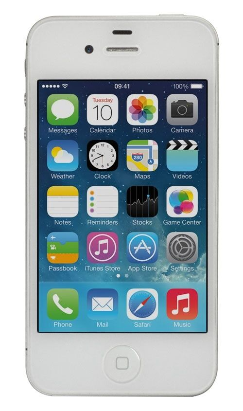 iphone 4 verizon apple iphone 4 8gb white verizon page plus smartphone 10892