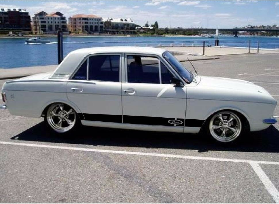 Decal Sticker Stripe Kit For Ford Cortina Panel Door