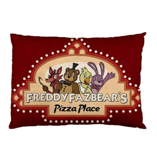 New five nights at freddys pizzeria for pillow case one side free