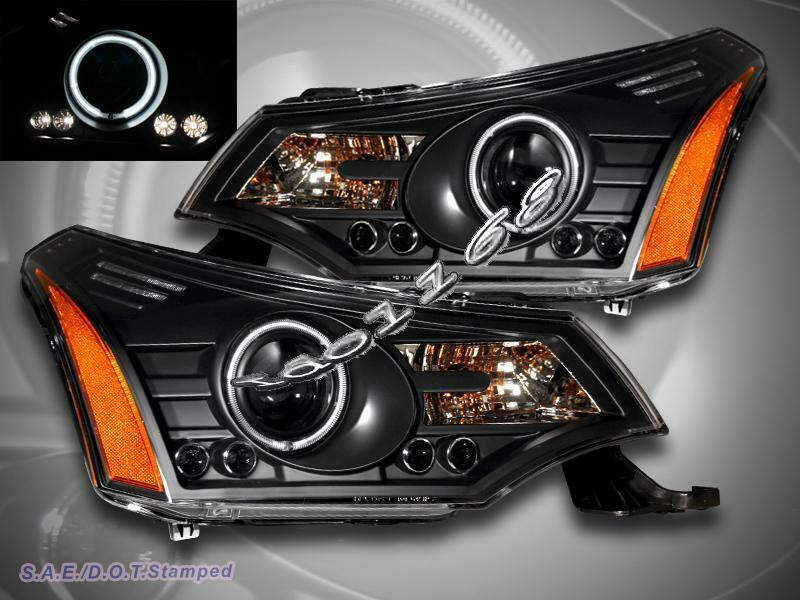 ford focus headlights how to turn on