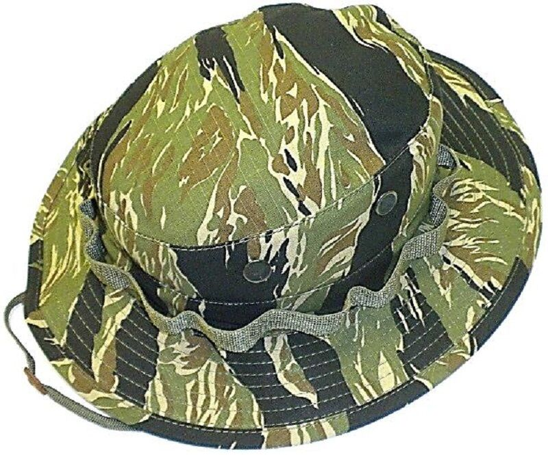 Mil Issue Special Force Vietnam Tiger Stripe Camo Cot Rip