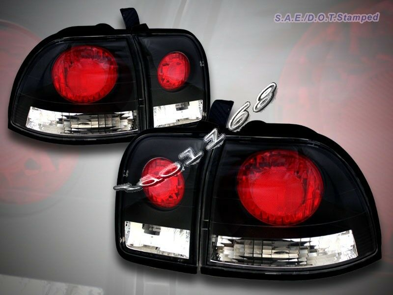 1996 1997 honda accord altezza tail lights jdm black 96 97. Black Bedroom Furniture Sets. Home Design Ideas
