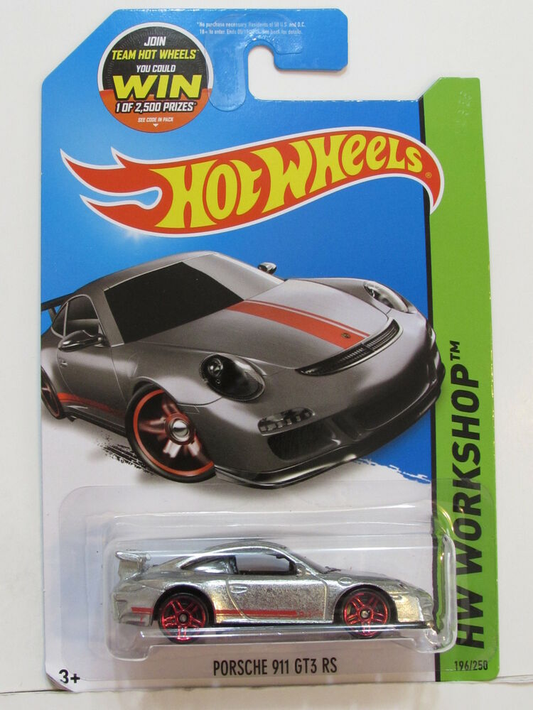 hot wheels 2015 hw workshop night burnerz porsche 911 gt3 rs zamac ebay. Black Bedroom Furniture Sets. Home Design Ideas