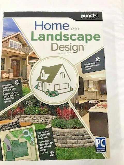 Punch home landscape design 17 5 win xp vista win 7 win for Punch home design