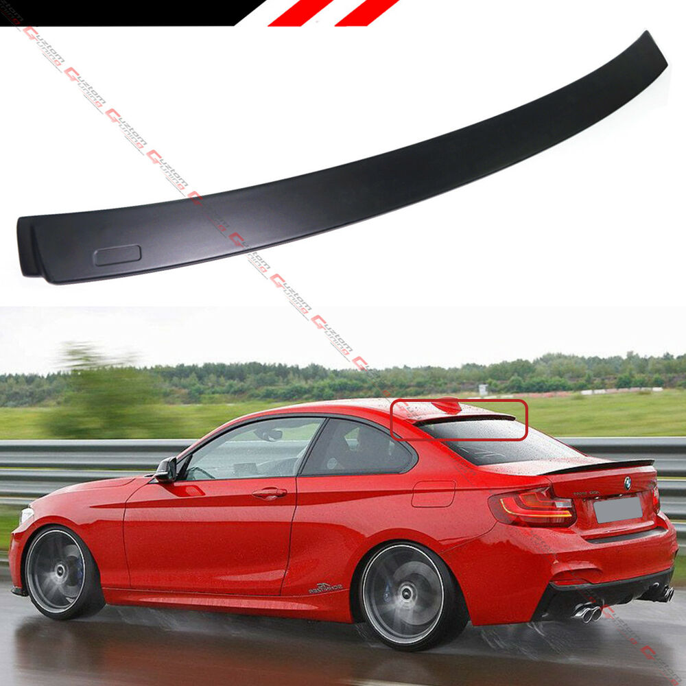 FOR: 2014-2018 BMW F22 228i M235i F87 M2 MATT BLK REAR