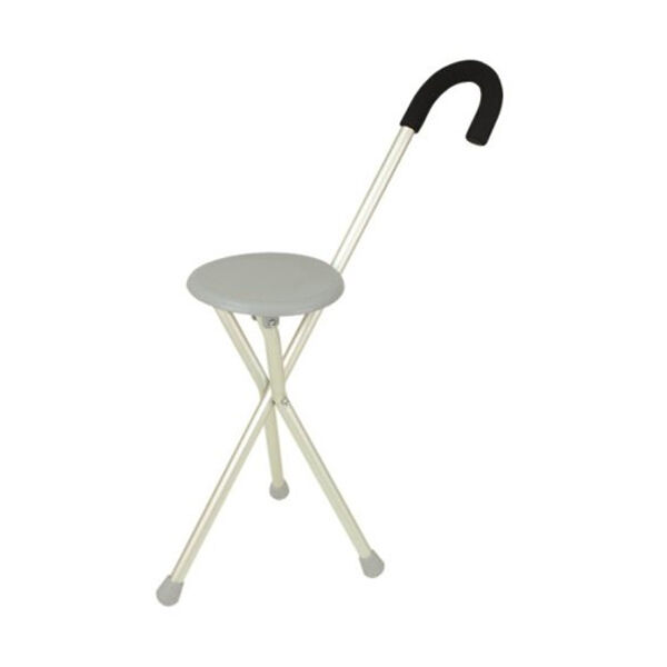 TRAVELON Walking Seat & Cane in 1 Lightweight Folding Portable Elderly Ai