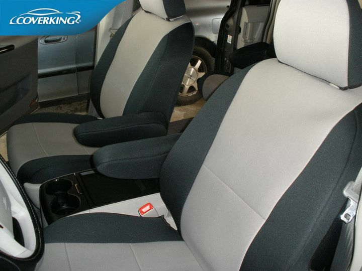 Toyota Sienna Coverking Neosupreme Custom Fit Front Seat