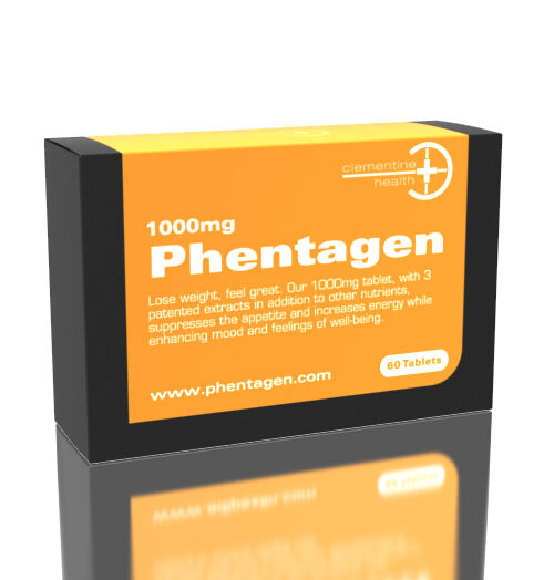 3 x Phentagen phenamine appetite suppressant - 1000mg ...