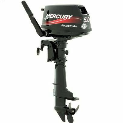 Mercury 5hp sail drive sailmate 4 stroke outboard engine 5hp motor