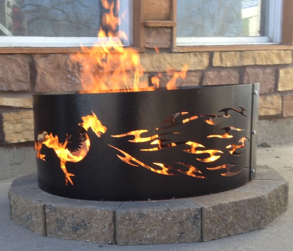 Dragon Fire Ring Outdoor Living Fire Pit Ebay