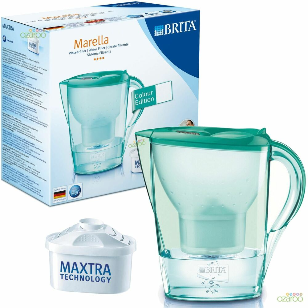 brita colour edition marella water filter jug 1 maxtra. Black Bedroom Furniture Sets. Home Design Ideas