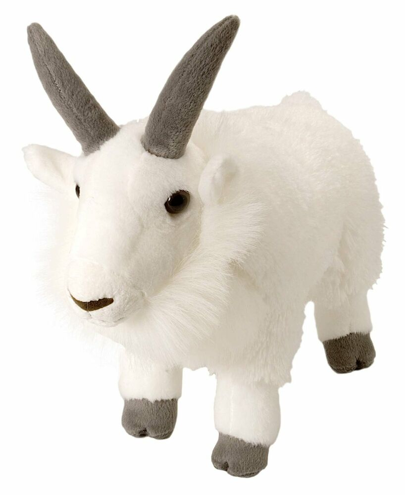 Wild Republic Baby Mountain Goat Plush Animal Stuffed Animals Zoo