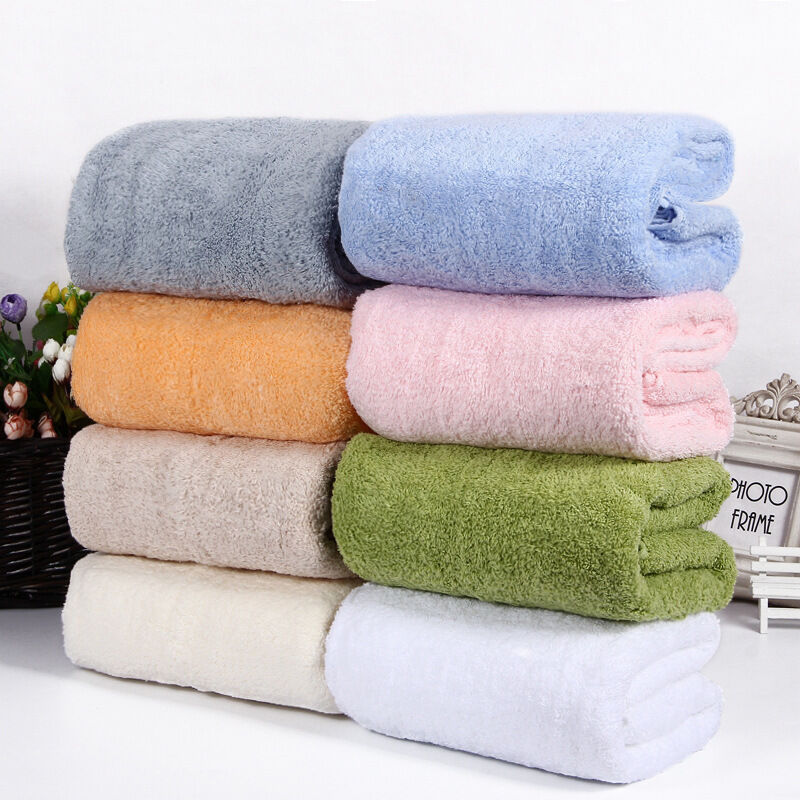 Largest Microfiber Towel: Absorbent Microfiber Serene Luxury Cotton Bath Bathroom