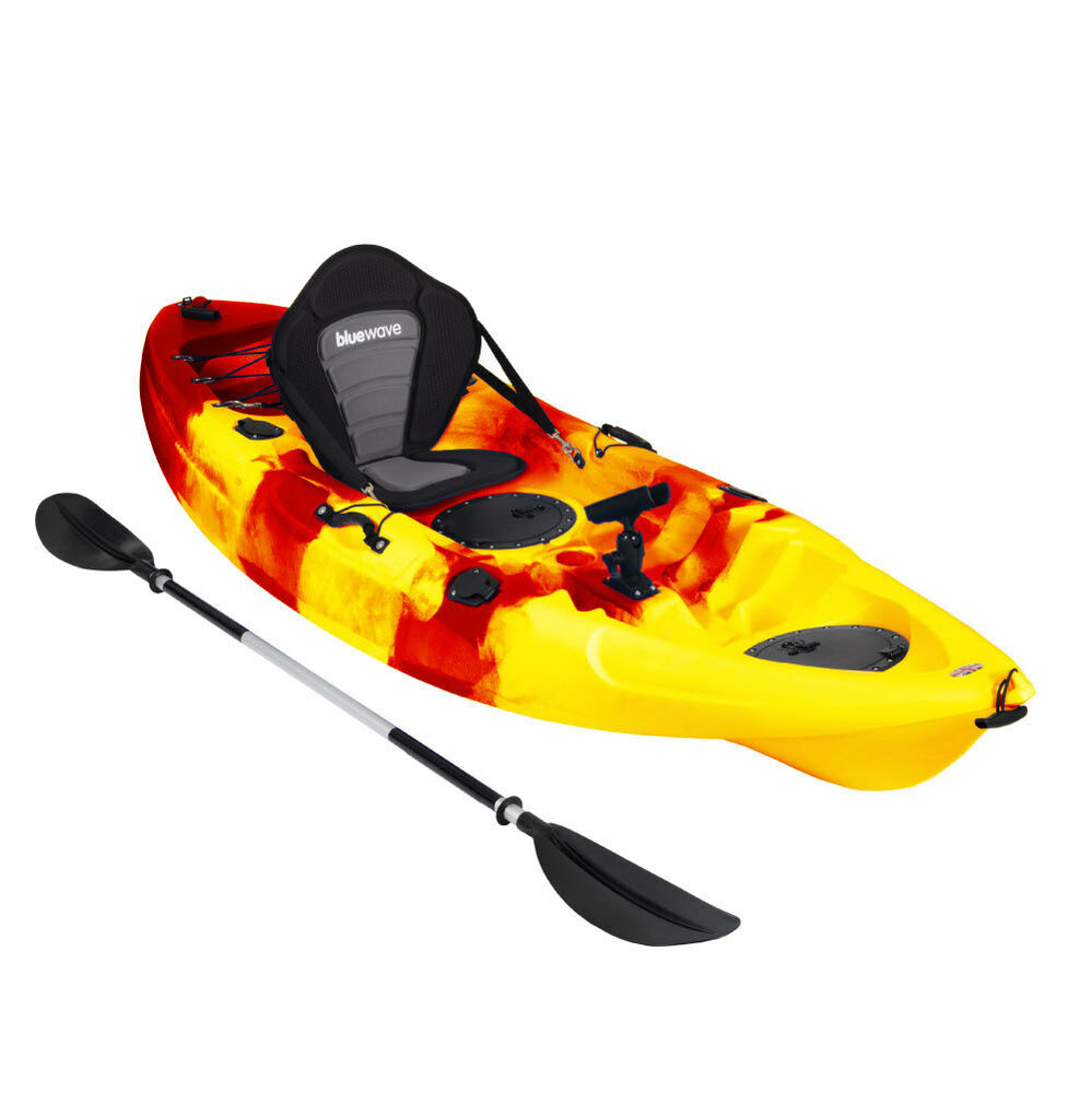 Kayak sit on top fishing sea river kayaks deluxe seat for Sit on vs sit in kayak for fishing