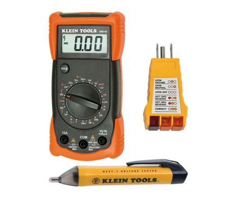 Bypass New Electrical Digital Meters : Klein tools new electrical digital multimeter hvac