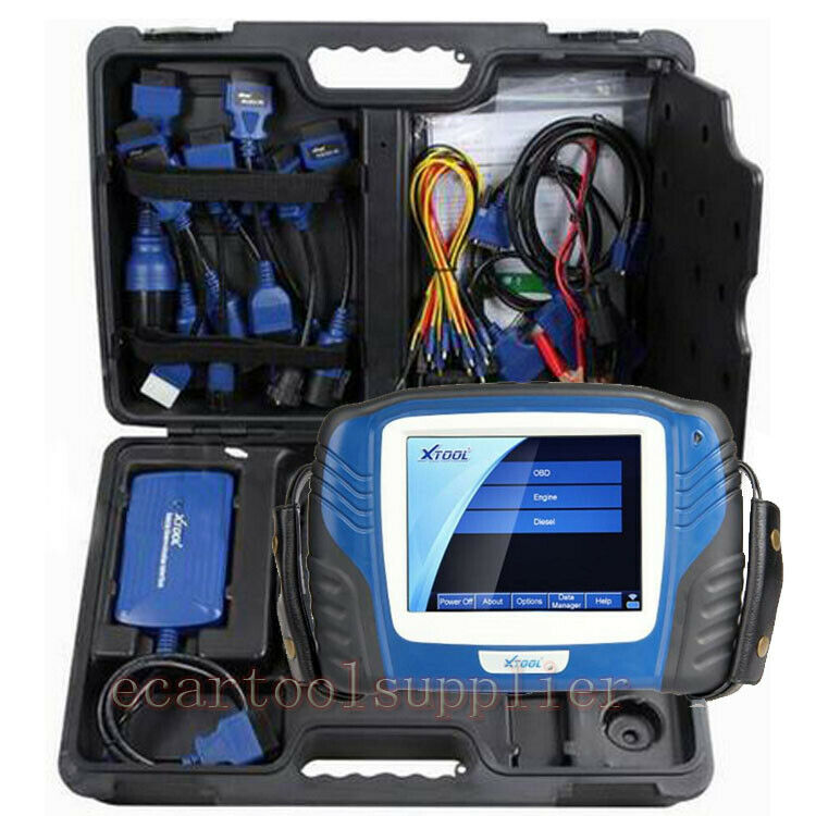 xtool ps2 heavy duty truck inegrated diagnostic tool can. Black Bedroom Furniture Sets. Home Design Ideas