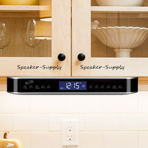 Ilive Wireless Bluetooth Under Cabinet Kitchen Music