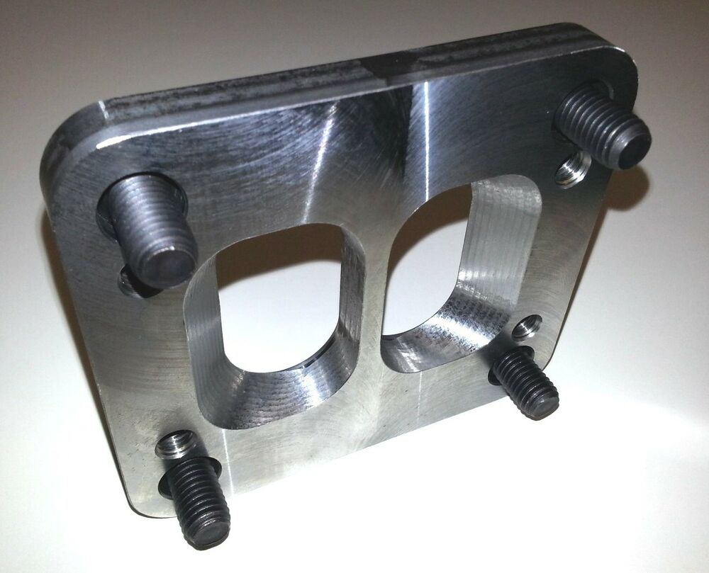 T tot divided turbo flange adapter twin scroll quot for