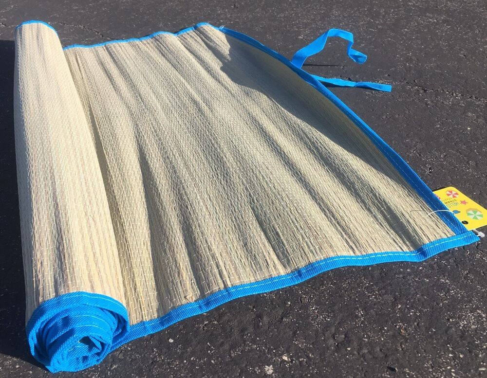 how to clean a straw rug