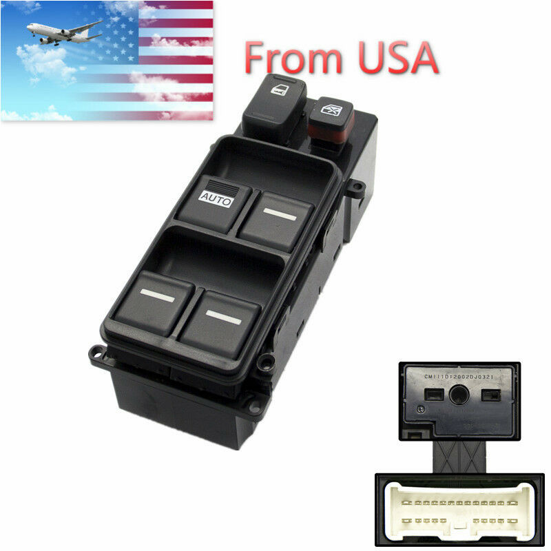 New electric master power window switch for honda accord for 1994 honda accord power window switch